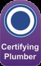 Certifying Plumber